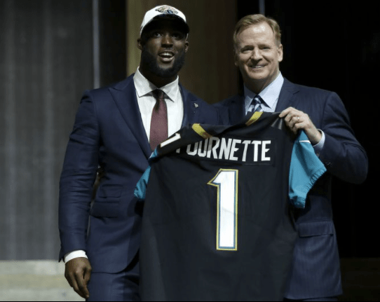 Leonard Fournette didn't know who Mitch Trubisky was