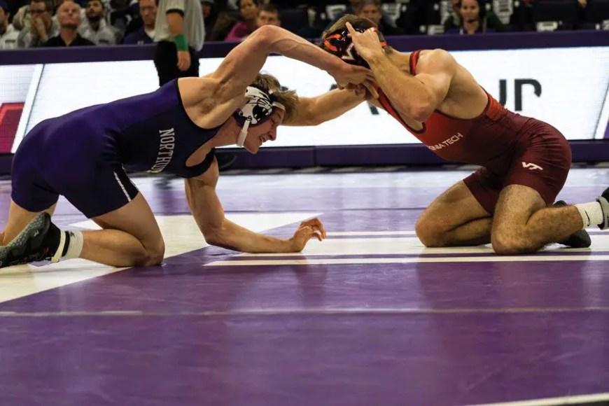 NCAA wrestling Round 1