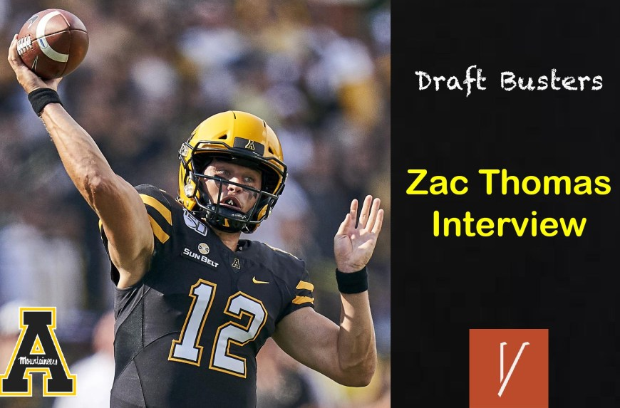 Interview with Zac Thomas - Draft Busters