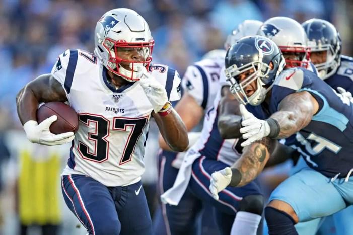 Patriots running backs