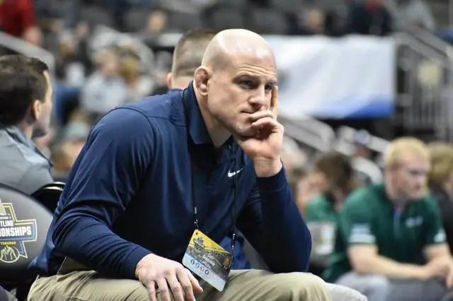 Cael Sanderson Wrestling Coach