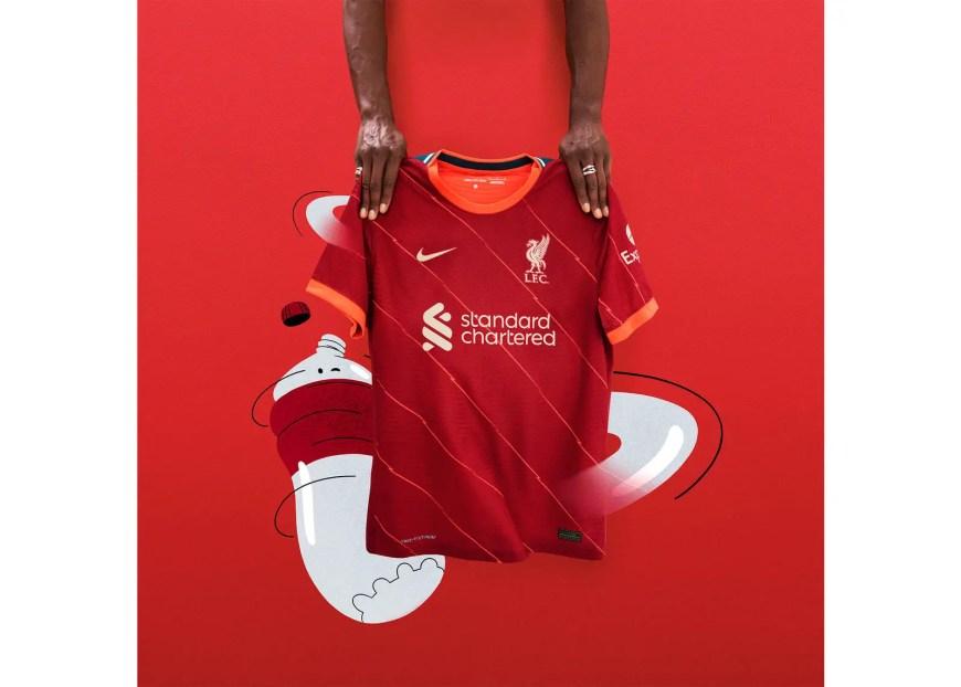 Liverpool Home Kit 21/22