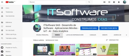 Canal Youtube ITSoftware SAS