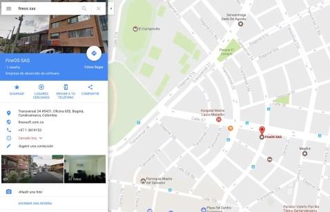 Servicio de Localización de Google Maps para tu negocio