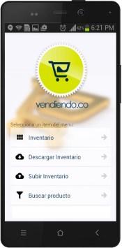 App MOVIL de Inventarios Vendiendo.co
