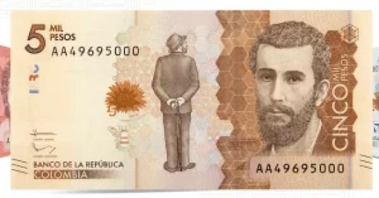 Identificar billetes falsos de 5000 pesos