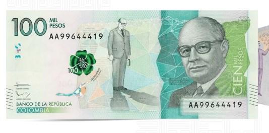Identificar billetes falsos de 100000 pesos