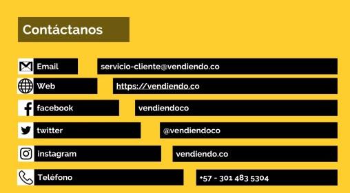 Contactos Vendiendo Sistema POS