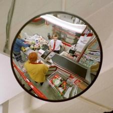 Espejos de vigilancia