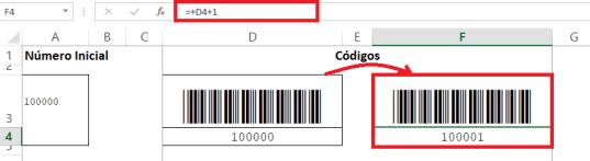 Segunda columna de códigos