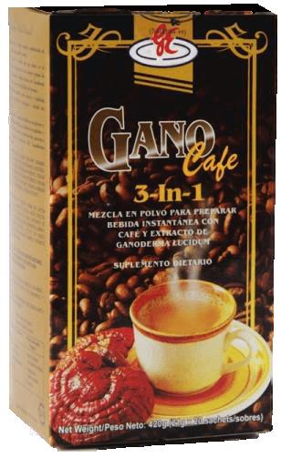 ganocafe 3 en 1 - ganoderma - productos gano excel méxico
