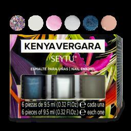 Set de esmaltes para uñas Kenya Vergara SEYTU