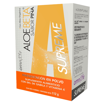 aloe beta piña supreme productos omnilife mexico