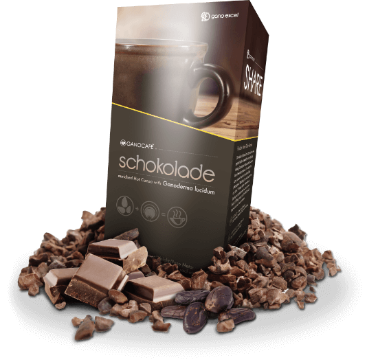 Ganocafe Schokolade productos gano excel usa estados unidos