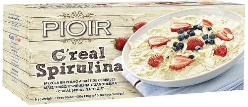 pioir cereal espirulina productos gano itouch peru