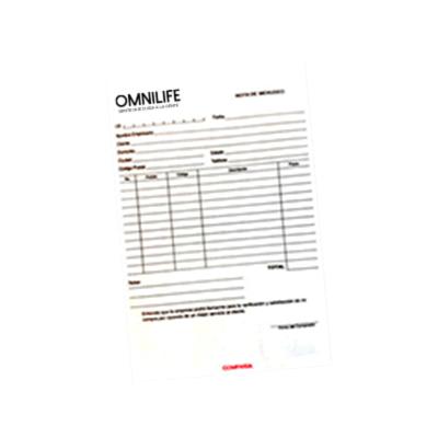 recibos de venta inglés catalogo de productos omnilife usa