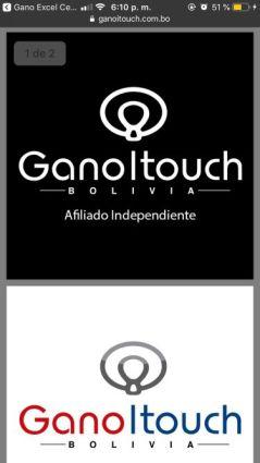 Logos para afiliados Gano iTouch