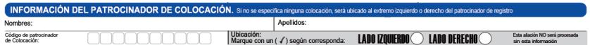 Código Colocación - Nueva Vinculación Gano Excel