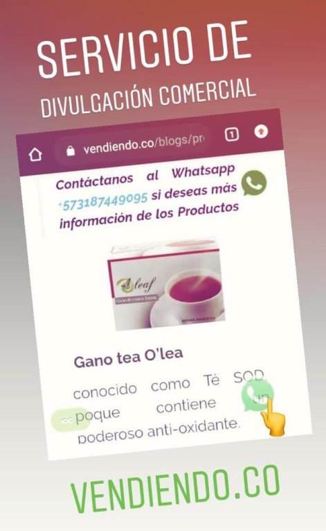 Servicio de divulgación comercial Vendiendo.co
