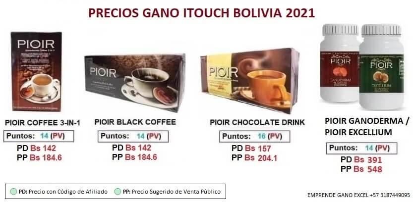Precios-Gano-iTouch-Bolivia 2021