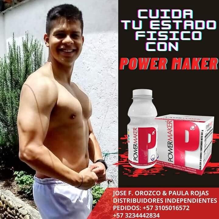 Ganar masa muscular con Power Maker