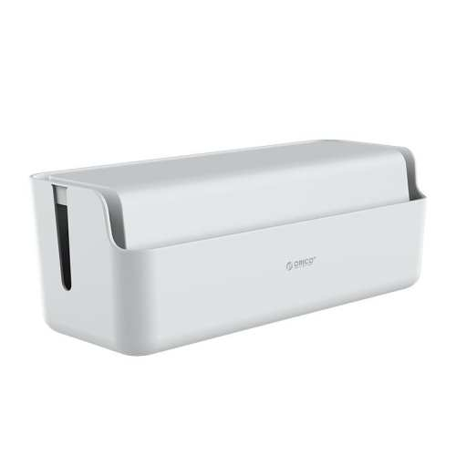 Orico Storage Box for Power Cable and Surge Protector 43x15.8x17cm - White