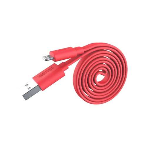 Romoss USB to Lightning 1m Flat Cable - Red
