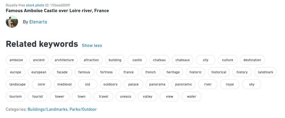 Château d'Amboise : description, mots-clés et catégories