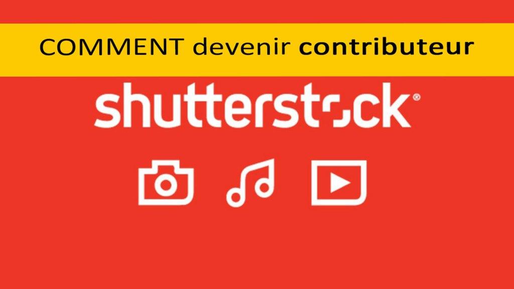 Comment devenir contributeur Shutterstock