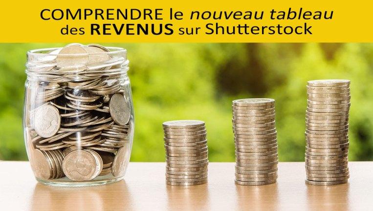 Nouveau tableau des rémunérations sur Shutterstock  | Vendre ses photos en ligne