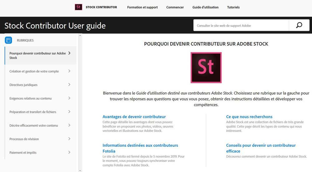 Guide complet Adobe Stock | Vendre ses photos en ligne