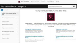 Guide Adobe Stock très complet pour ses contributeur