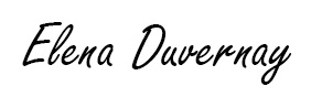 Elena Duvernay signature