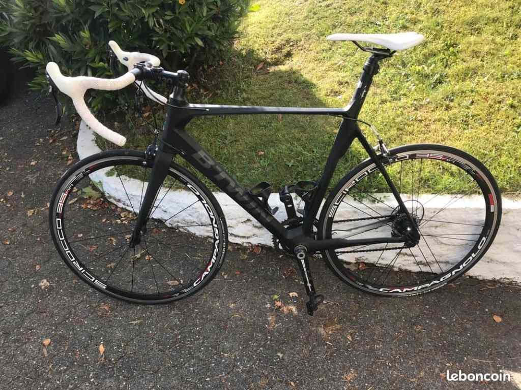vélo de route Btwin Mach 740 occasion 2014