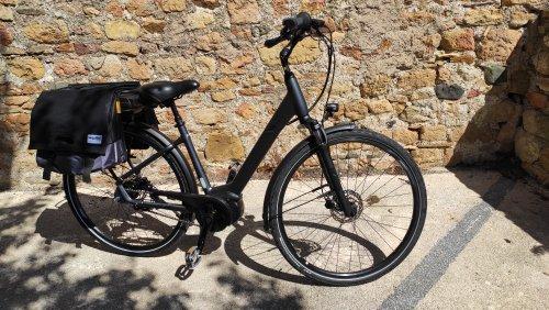 Vélo électrique de ville VAE GIANT ENTOUR E + 1 LDS occasion 2021