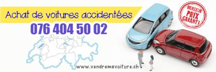 Rachat de voitures accidentée en Suisse