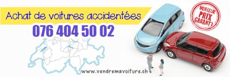 Achat des voitures accidentées