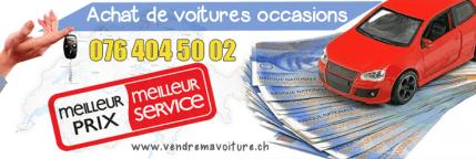Vendre sa voiture rapidement partout en Suisse