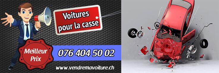 Achat de voiture de casse en Suisse