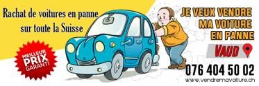 Acheteur de voiture en panne à Lausanne pour l'exportation