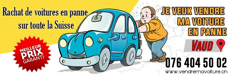 Rachat de voiture en panne Vaud