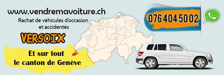 Rachat de voiture d'occasion à Versoix