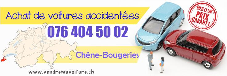 Vendre sa voiture accidentée à Chêne-Bougeries