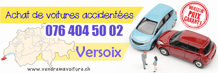 Vendre sa voiture accidentée à Versoix