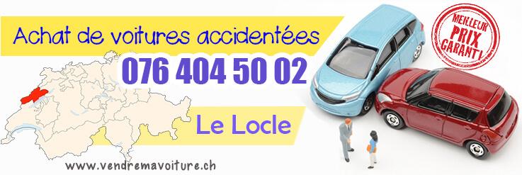 Vendre sa voiture accidentée à Le Locle