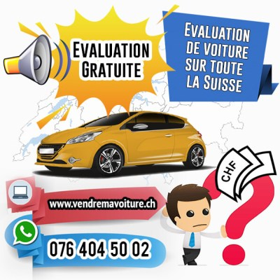 Évaluation de votre voiture en Suisse
