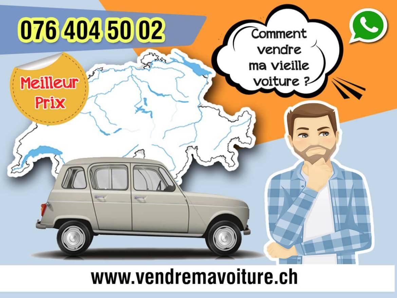 Comment vendre ma vieille voiture en Suisse