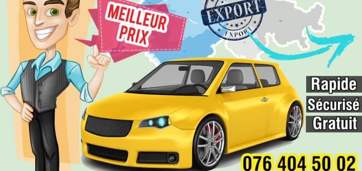 Vendre une voiture pour l'export