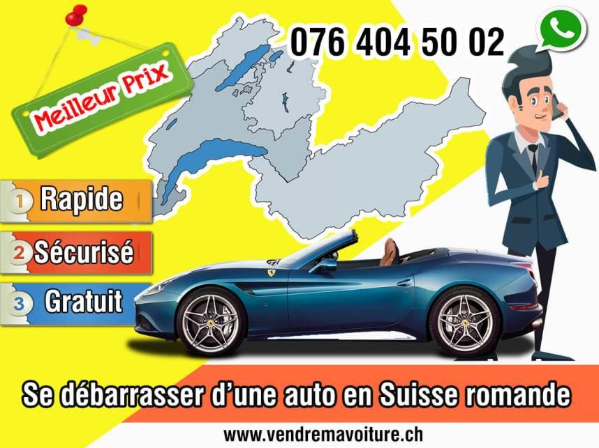 Solution pour se débarrasser d'une auto en Suisse romande