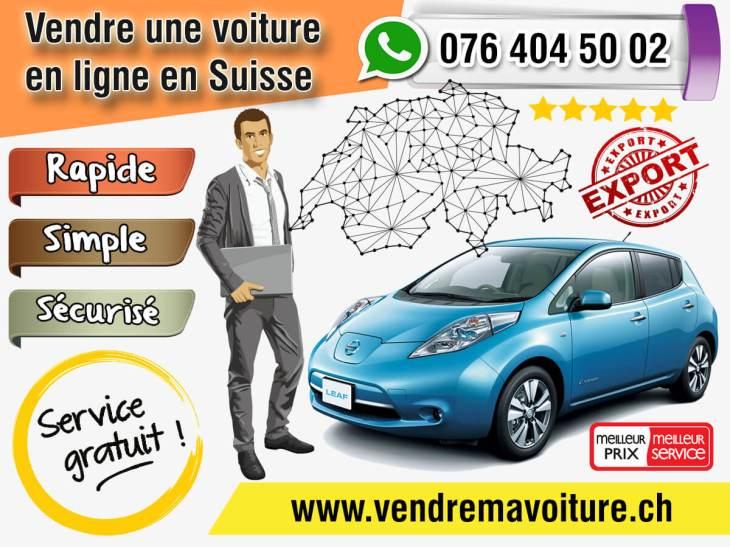 Vendre une voiture en ligne en Suisse